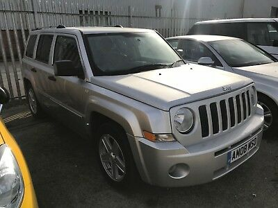 2008 Jeep Patriot Limited 2.0 Crd Non Runner Needs Recovering Away