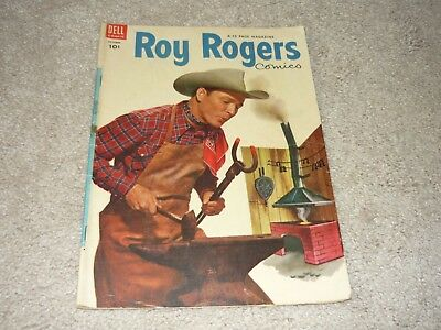 ROY ROGERS #70 ~ DELL ~ 1953 ~ VG/FN ~ See Pics.