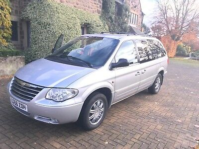 Chrysler Grand Voyager Limited 3.3L XS 2006 Silver with Stow and Go seats