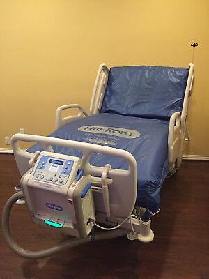 Hill-Rom CareAssist electric hospital bed with P500 Therapy Surface mattress