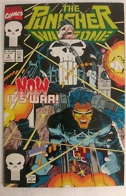 THE PUNISHER WAR ZONE Now It's War Marvel Comic 1992 #6