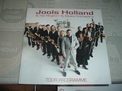 Jools Holland + his Rhythm + Blues Orchestra tour programme