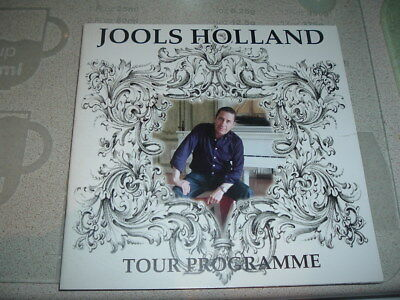Jools Holland tour programme