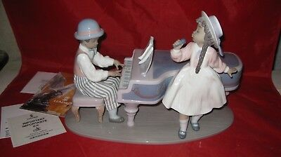 LLADRO JAZZ DUO BLACK LEGACY Figurine 5930 +Box ( from set of 6)