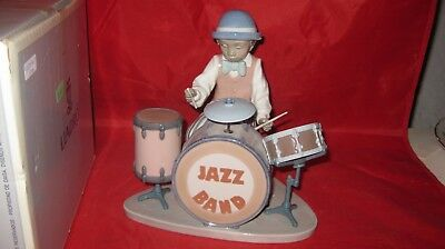 LLADRO JAZZ DRUMS BLACK LEGACY Figurine 5929 +Box ( from set of 6)