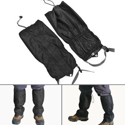 1 pair Waterproof Nylon Leg Cover Breathable Warm Podotheca Gaiters for Outdoor