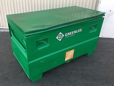 USED, Greenlee HD2448 Locking Storage Toolbox