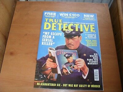 True Detective Crime Magazine December 2018 free uk postage