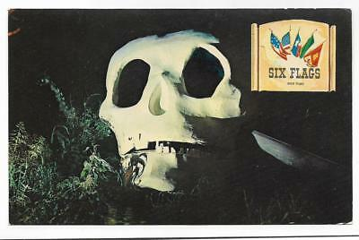 Grinning Skull,mysterious Skull Rock,buried Treasure~Six Flags Over Tx,texas