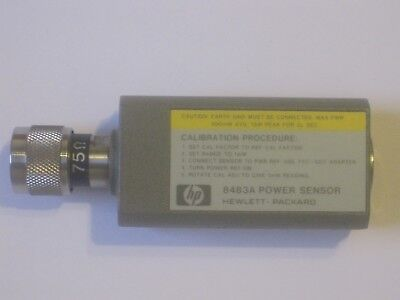 Power Sensor Hp 8483 A  Hewlett Packard