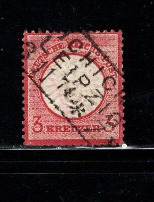 Item No. A5787 – Germany – Scott # 23 – Used