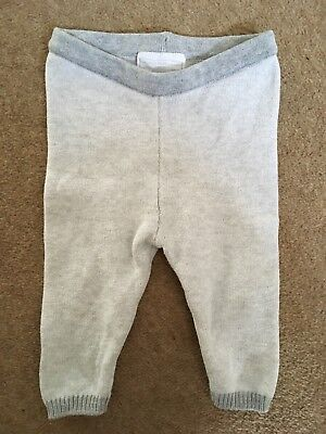 Little White Company Knitted Leggings Baby Girl Or Boy 3-6 Months EUC