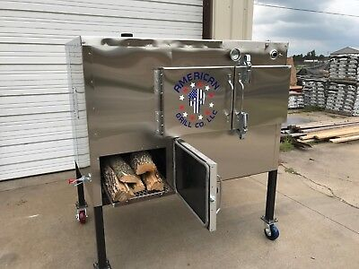 """SRS Insulated 36"""" x 36"""" Rotisserie Smoker - Call Before You Buy"""