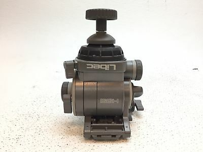 Libec H85 Fluid Head Tripod Head w/ Slide Plate - LARGE PIECE CRACKED OFF
