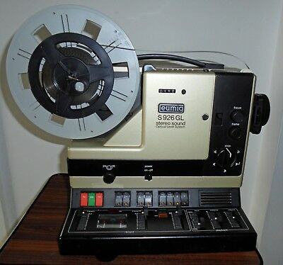Super 8mm Projector Eumig S926 GL Stereo Sound Excellent Working Condition