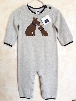 NWT Janie And Jack Boys Knitted Sweater One Piece Terrier/Dog Sz 6-9 Mos $59