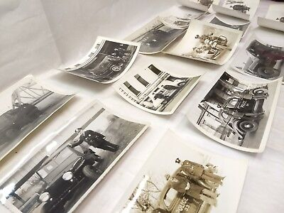 Vintage 1940's Louisville KY Police With Vehicles Cars Photos - Nice Small Lot
