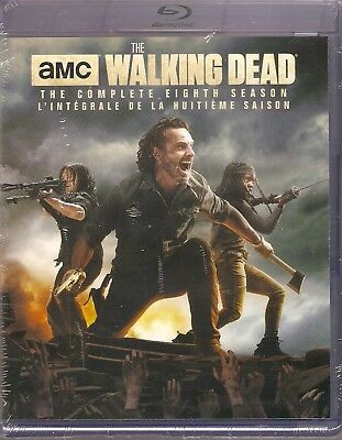 AMC THE WALKING DEAD THE COMPLETE EIGHTH SEASON BLURAY SET with Andrew Lincoln