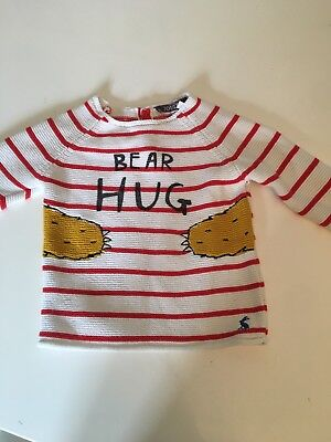 Joules Baby Boy 3-6 Month Jumper
