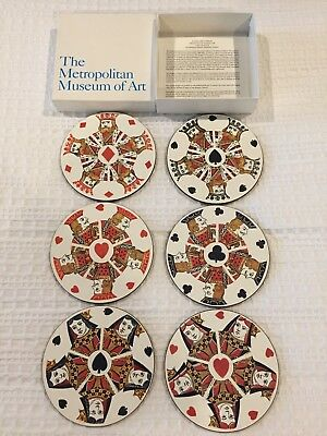 The Metropolitan Museum of Art Jason  Products Playing Card DesignCoasters