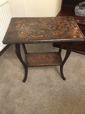 Chinese Wooden Table (dragon)
