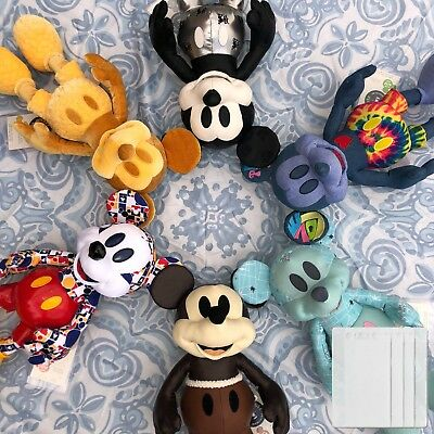 12 x Disney Mickey Mouse Memories January February March April tag protections