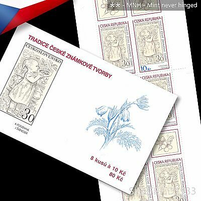feaf93afd87 Czech Republic (2009) - Stamp Design From 1960 - stamp booklet