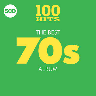 Various Artists - 100 Hits: Best 70S Album / Various [New CD] Boxed Set, UK - Im