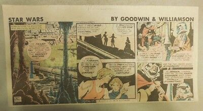 Star Wars Sunday Page by Al Williamson from 9/27/1981 Third Page Size!