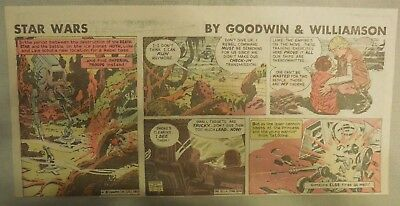 Star Wars Sunday Page by Al Williamson from 2/22/1981 Third Page Size!