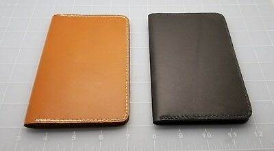 Judd's Lot of 2 Very Nice Garny Leather Field Notes Holders