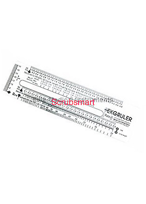 Brand New EKG ECG RULER Type 2 US seller Free Shipping