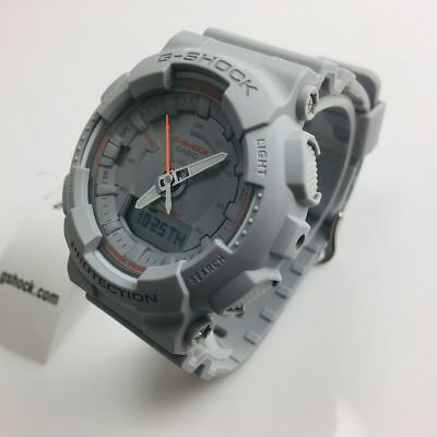 Women's Casio G-Shock Digital Analog Gray Watch GMAS130VC-8A