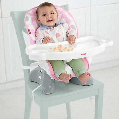 Fisher-Price SpaceSaver High Chair - Pink