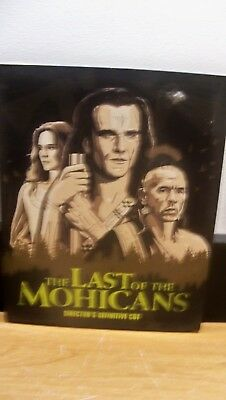 New W/ Se Slip Cover Genuine Fox Usa Blu Ray Last Of The Mohicans Free S&h