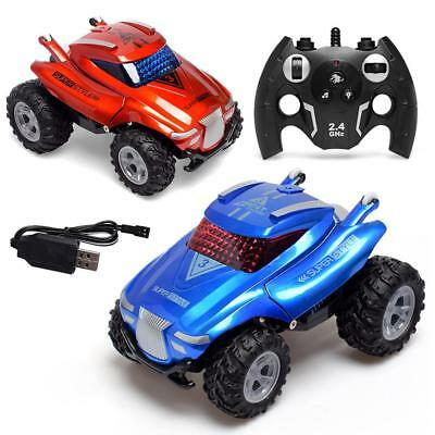 Wireless Remote Control Stunt Car 360 Degrees Tumbling With LED Light & Sound