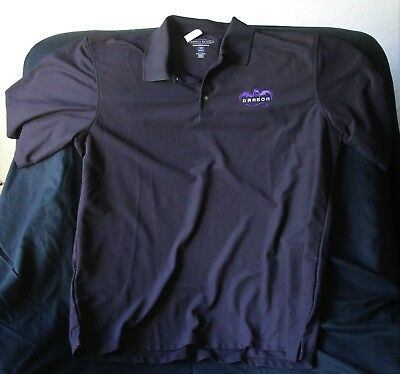 SPACE X Space Exploration Purple Dragon GolfShirt 2XL New with Tags, Elon Musk!