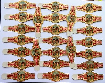 WHOLESALE: 1920s - 1950s Old Cigar Band X 25, Lot 156