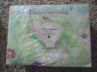 Dept 56 Snowbunnies Bisque Sheep Picture Frame New Shrink Wrapped
