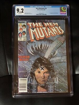 New Mutants #18 CGC 9.2 — White Pages — New Case — No Reserve