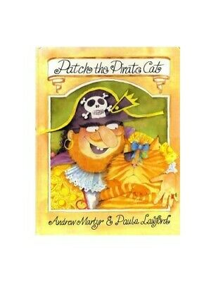 Patch the Pirate Cat by Andrew, Martyr Hardback Book The Cheap Fast Free Post