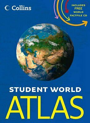 World Atlas (Collins Student Atlas) by Collins Maps Book The Cheap Fast Free
