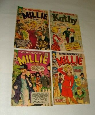 %  1960-70's  Millie & Kathy   Comic  Book Collection K-15