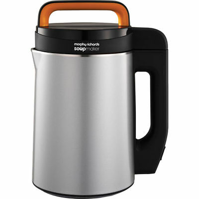 Morphy Richards 501040 1.6 Litres Soup Maker Silver New