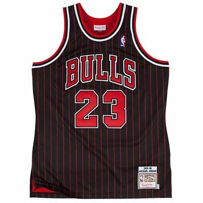 Brand New NBA Jersey Michael Jordan #23 Chicago Bulls Retro Black  UK SELLER