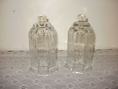 Home Interiors Vintage Tall Clear Votive Cups HOMCO peglites