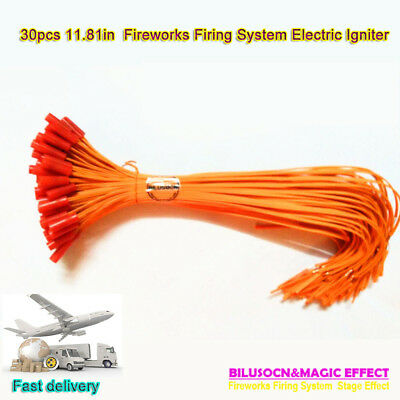Electric Igniter Match 30pcs/lot 11.81in Fireworks Igniter For firing system