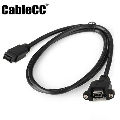 FireWire 1394B 9 pin to 9 pin male//male Firewire 800//800 Cable 70CM