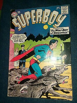 Superboy #116 Lana Lang Swan Siegel Papp DC Silver Age Comic Book VG+ collection