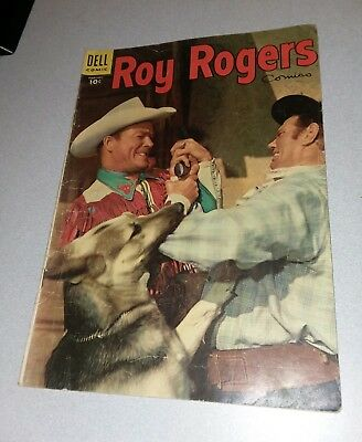 Roy Rogers Comics #86 dell 1955 photo cover golden age western lot run set movie